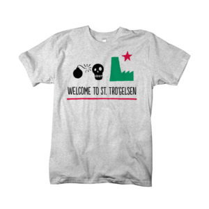 T-Shirt: Welcome to St. Tro Gelsen in Grau
