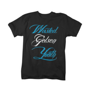 T-Shirt: Wasted Gelsen Youth Classic Farbe: Schwarz