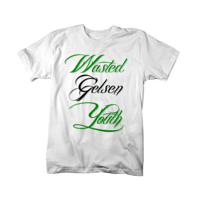 T-Shirt: Wasted Gelsen Youth Classic Farbe: Weiss