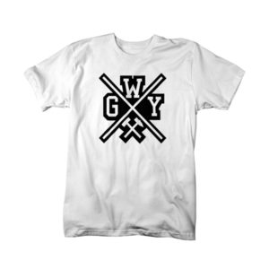 T-Shirt: Wasted Gelsen Yout Cross Farbe: Weiss