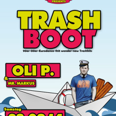 Flyer: Trash Boot Party 2014